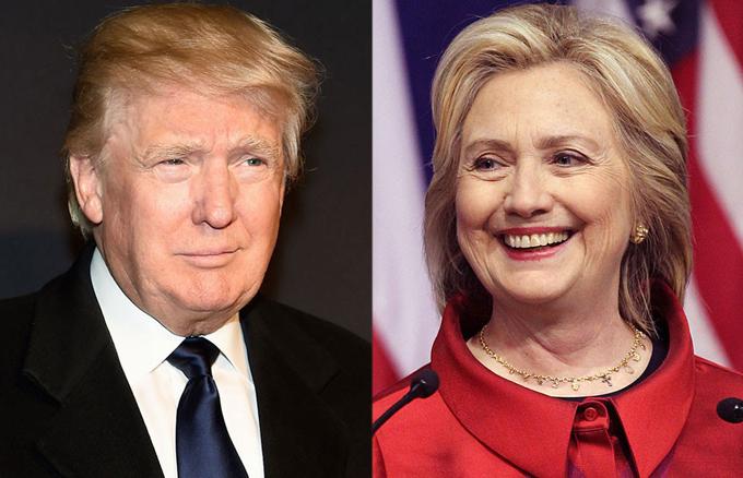 Trump y Clinton se acercan a la nominación en Estados Unidos