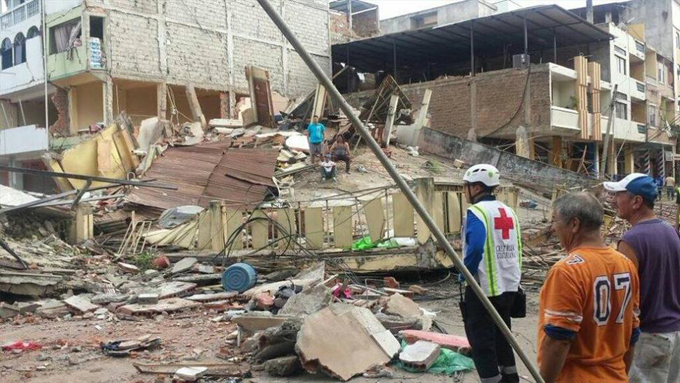 Cruz Roja Internacional apoya labores en Ecuador tras sismo