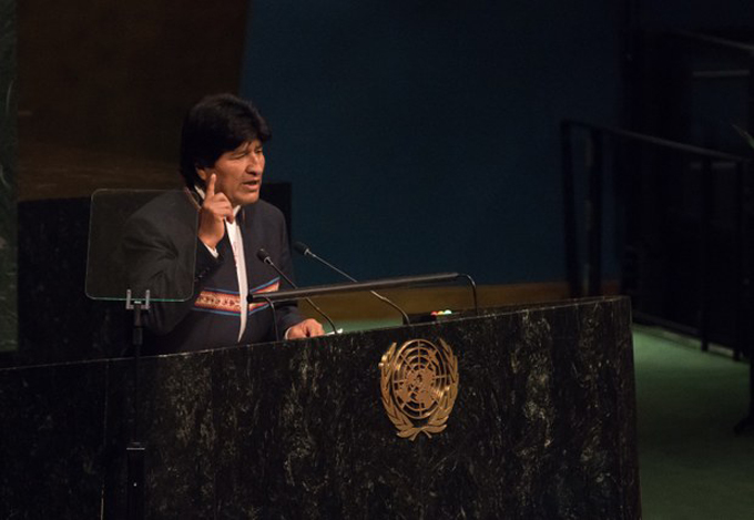 Evo Morales denuncia en ONU arremetida contra gobiernos progresistas