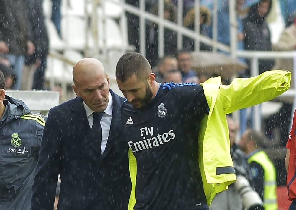 Benzema tiene difícil llegar al City: lesión del bíceps femoral