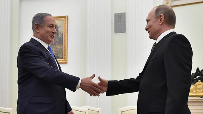 ¿De qué han hablado Putin y Netanyahu?