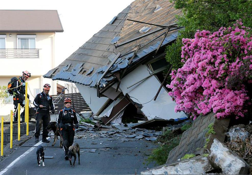 Dos potentes seísmos sacuden Japón y causan más de 30 muertos y miles heridos