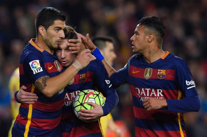 Barcelona 6-0 Sporting FOTO/ LLUIS GENE
