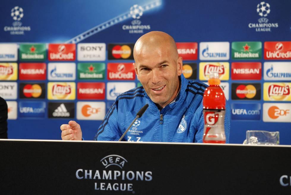 """Zidane: """"El Madrid nunca está preparado para no pasar"""""""