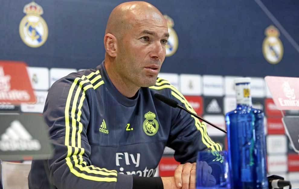 """Zidane: """"El martes nos jugamos la temporada y la afición estará con nosotros"""""""