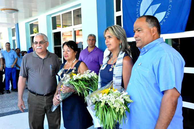 Condecoran a trabajadoras de ETECSA en Granma