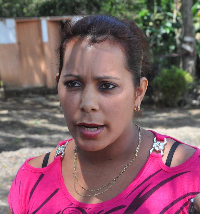 Yurenia Arévalo Arias,ama de casa, presidenta de Consejo de Escuela FOTO/Rafael Martínez Arias