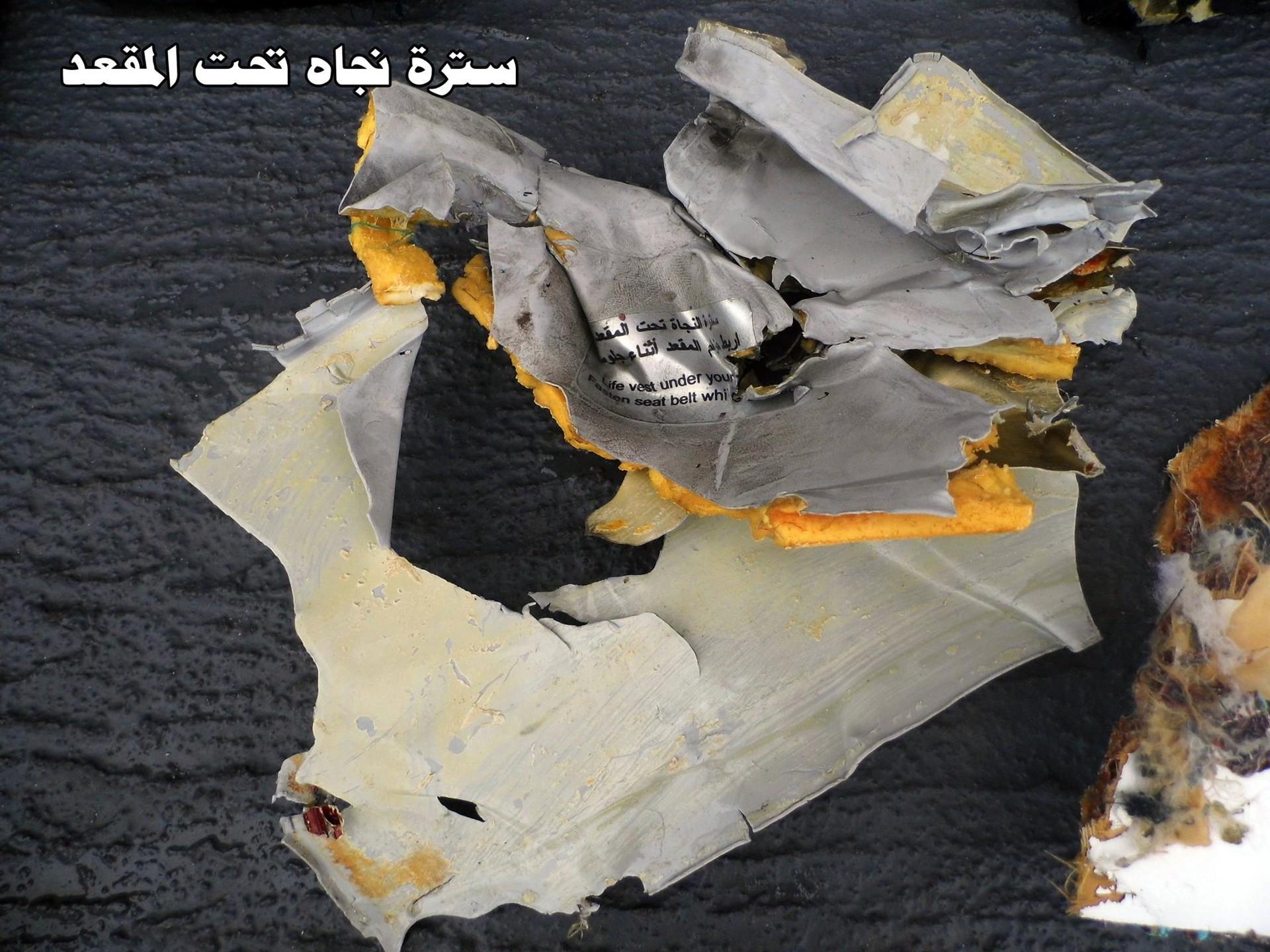 Accidente aéreo en Egipto 1