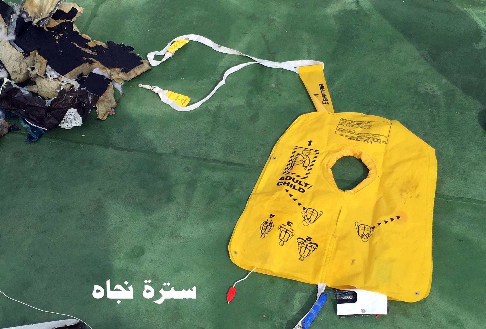 Accidente aéreo en Egipto 4