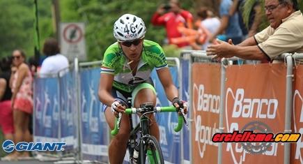 Arlenis ganó segunda etapa de la Vuelta Ciclística a Costa Rica