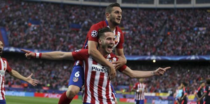 Atletico de Madrid en la final