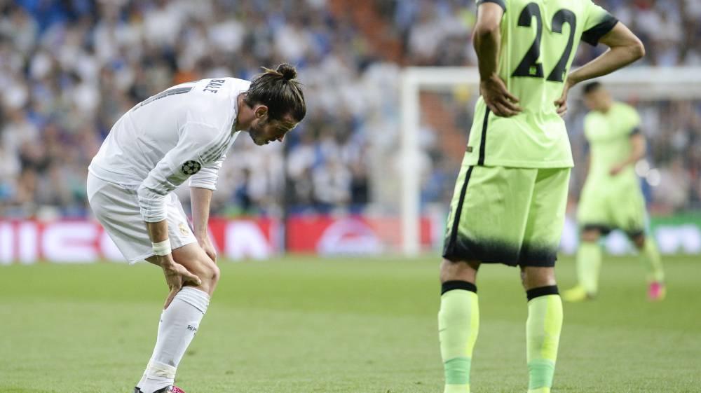 Bale no estará ante el Valencia por un esguince en la rodilla
