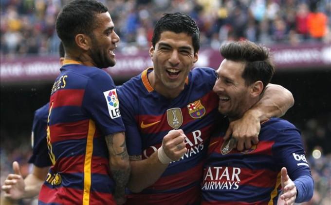 Barcelona celebra victoria