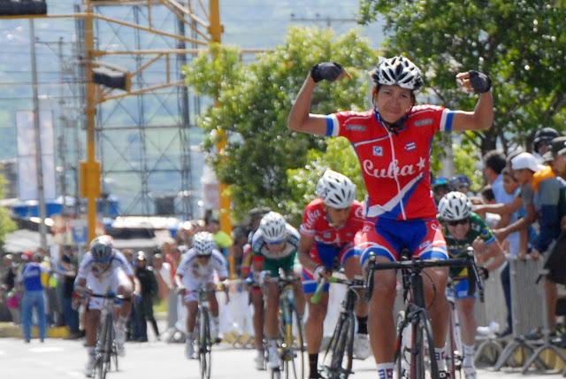 Cubanas García y Sierra hicieron el uno-dos en el Panamericano de Ciclismo de Ruta