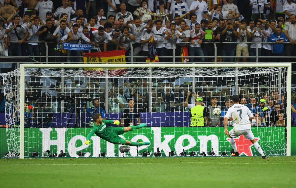 Cristiano Ronaldo marca el penalti definitivo, Shaun Botterill (Getty Images)
