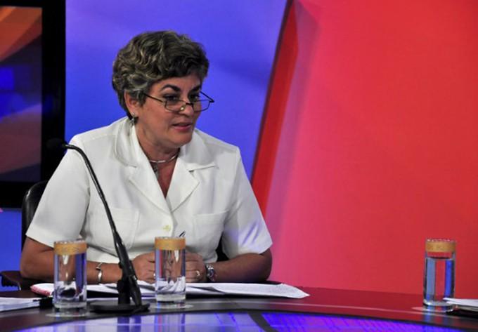 Déborah Rivas, directora general de inversiones del ministerio cubano de Comercio Exterior y la Inversión Extranjera