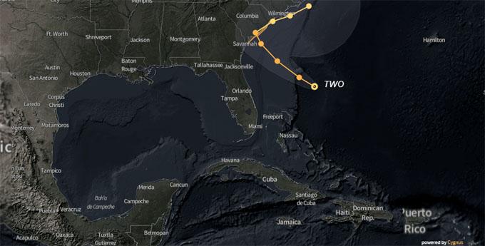 Se forma la segunda depresión tropical