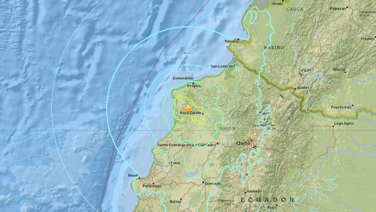 Nuevo terremoto de 6,8 grados sacude Ecuador