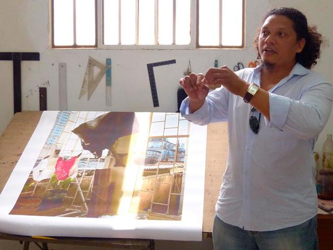 Exposición sugerente atrae a los holguineros en Romerías