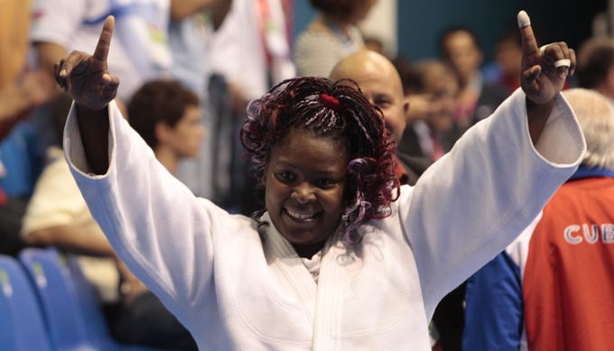 Oro para cubana Idalis Ortiz en World Máster de Judo