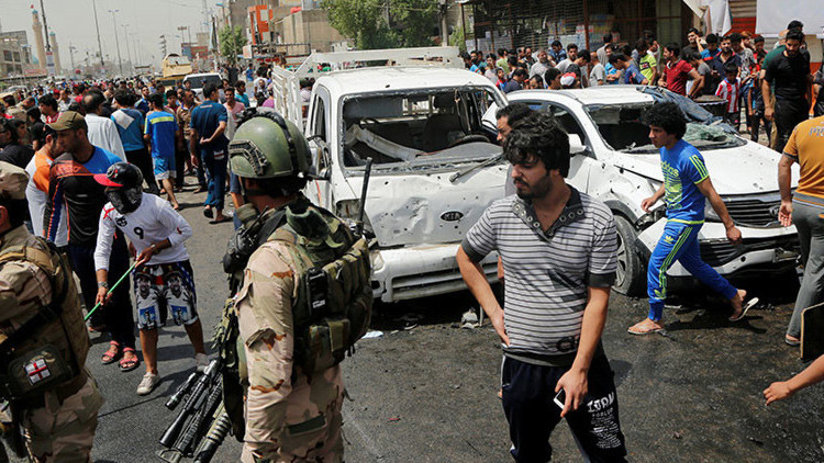 Explosión de carro bomba causa 37 muertos en capital de Iraq