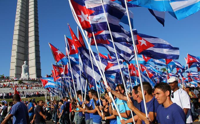 Impacto internacional del Primero de Mayo en Cuba