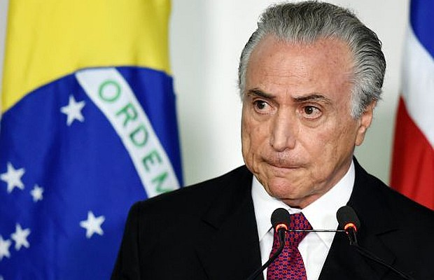 Temer reconoce audio que promueve el impeachment en Brasil
