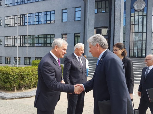 Primer vicepresidente de Cuba concluye visita oficial a Rusia