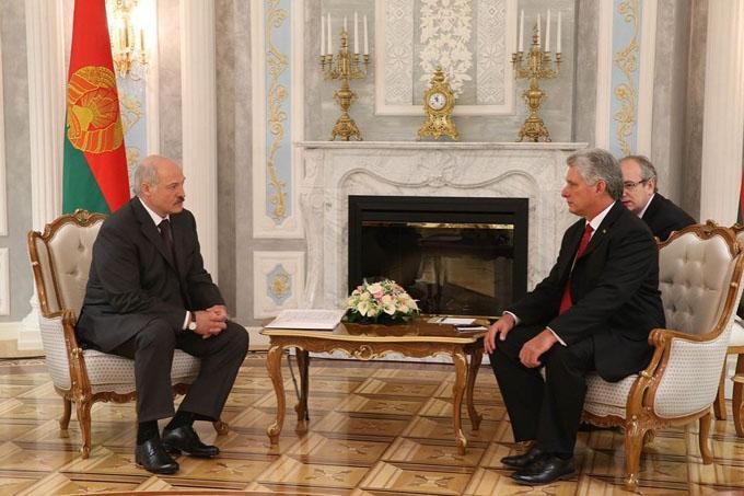Llegó a Belarús primer vicepresidente de Cuba