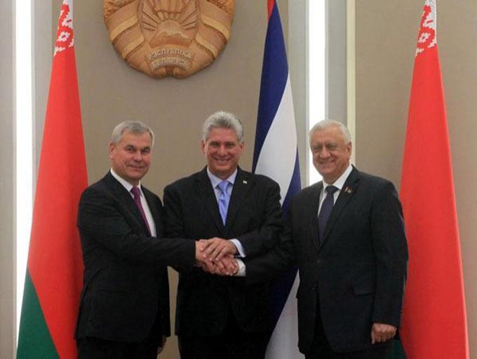 Presidente de Belarús reitera voluntad de cooperación con Cuba