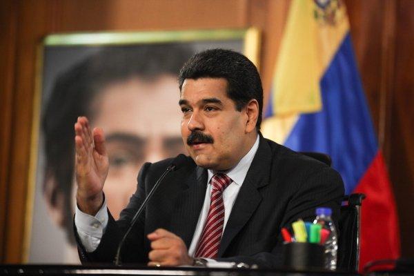 Rueda de Prensa de Presidente venezolano Nicolás Maduro