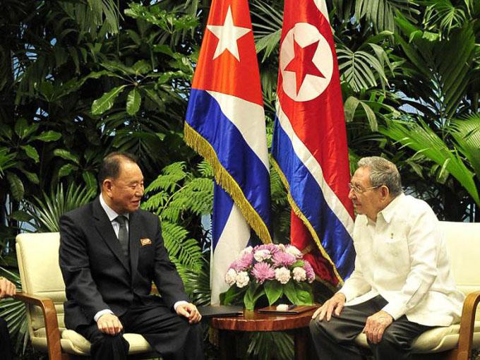 Recibe presidente cubano a enviado especial de líder de RPDC