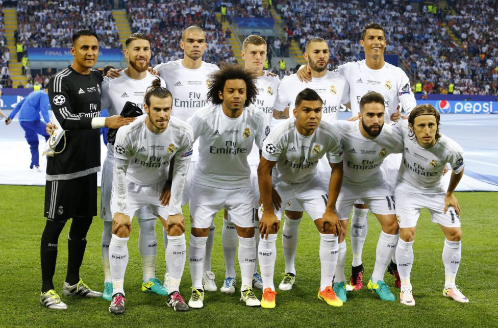 El once inicial del Real Madrid. Stefano Rellandini (REUTERS)