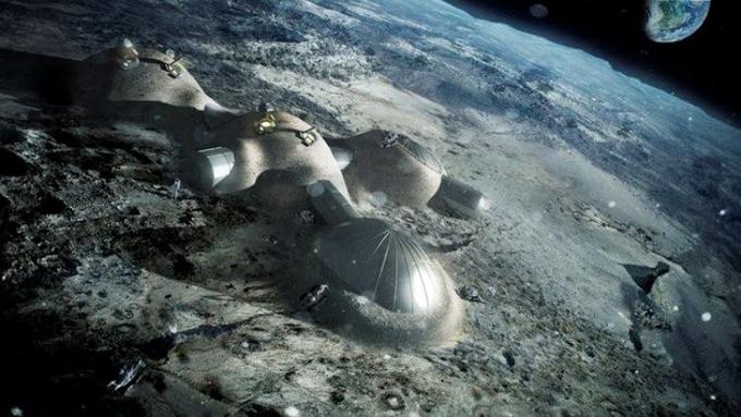 """La Agencia Espacial Europea pretende crear una """"aldea"""" en la Luna"""