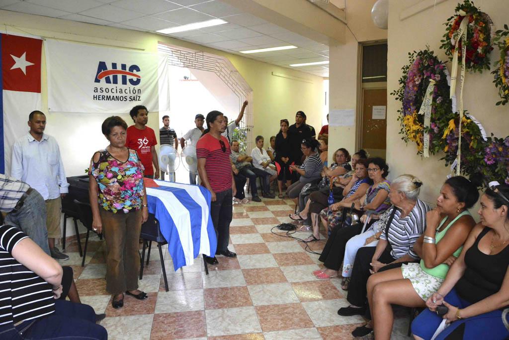 CUBA-GRANMA REALIZAN FUNERAL A BLADIMIR ZAMORA CESPEDES, EL BLADO DEL CAIMAN