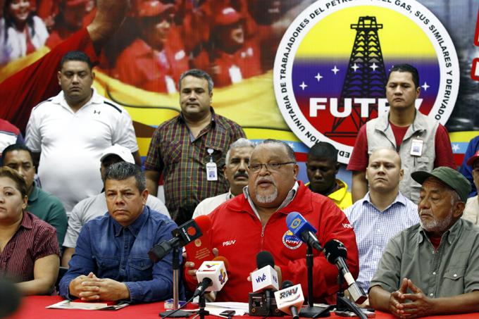 Trabajadores venezolanos reafirman apoyo a la Revolución bolivariana