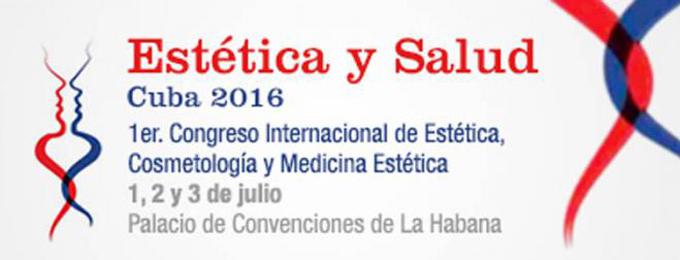 En Cuba Primer Congreso Internacional de Estética y Salud