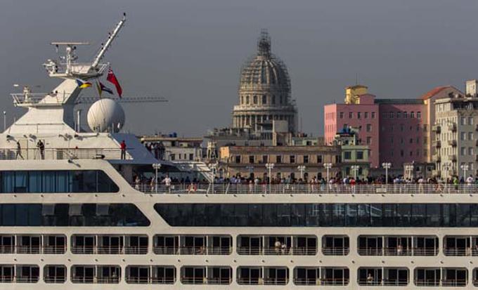 Pasajeros del crucero Adonia llegarán el viernes a Santiago de Cuba