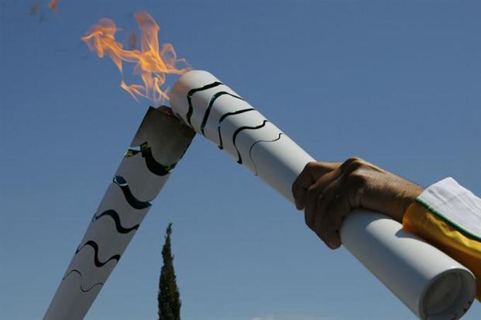 Arde ya en Brasil el fuego olímpico