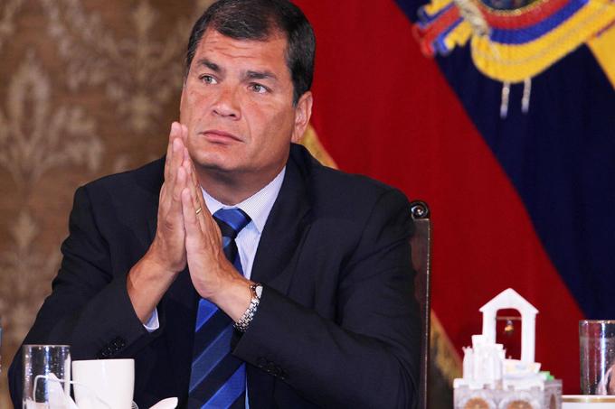 Correa argumenta medidas de emergencia en Ecuador por sismo