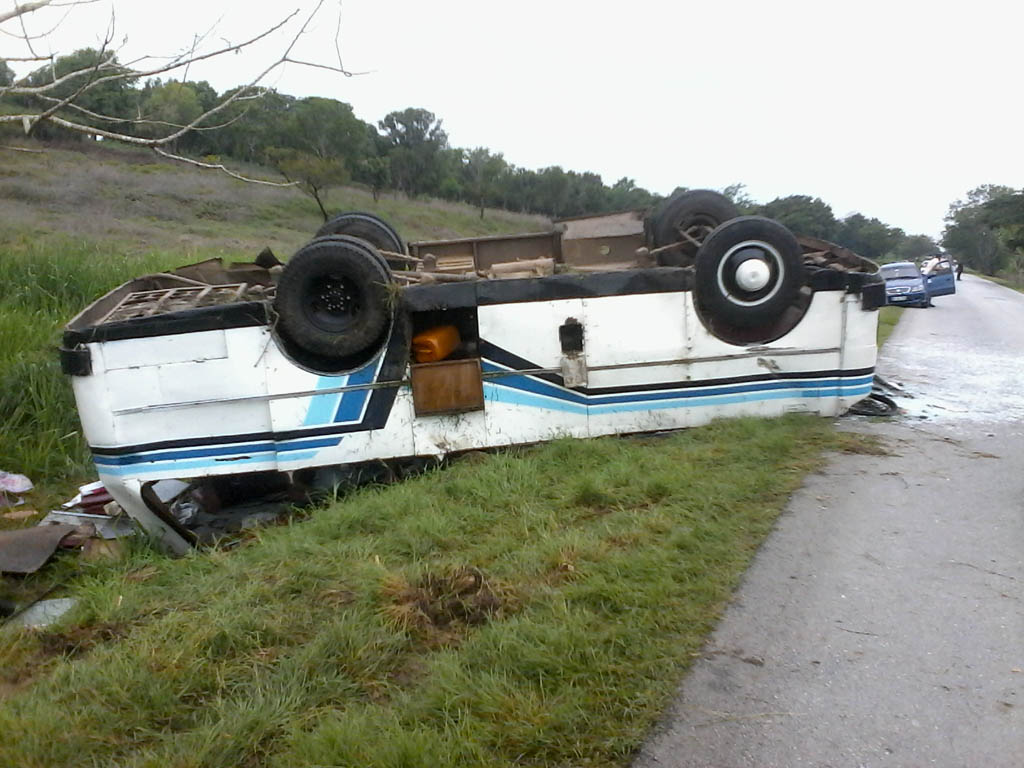 Accidente de tránsito, Bayamo 7