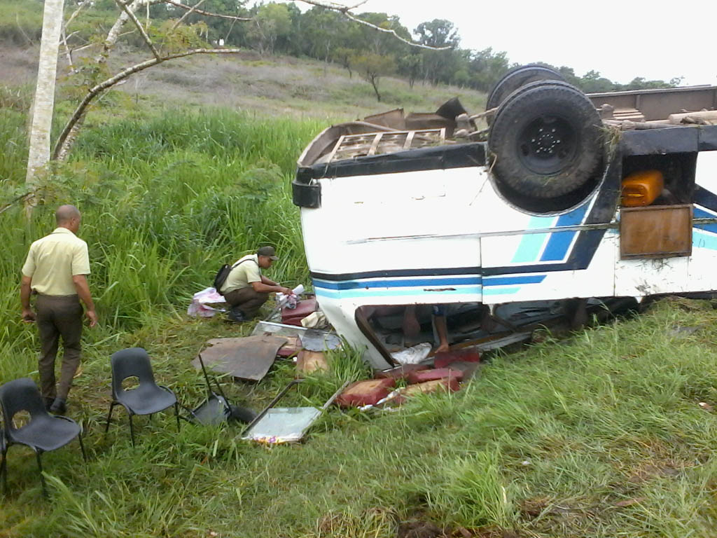 Accidente de tránsito, Bayamo 8