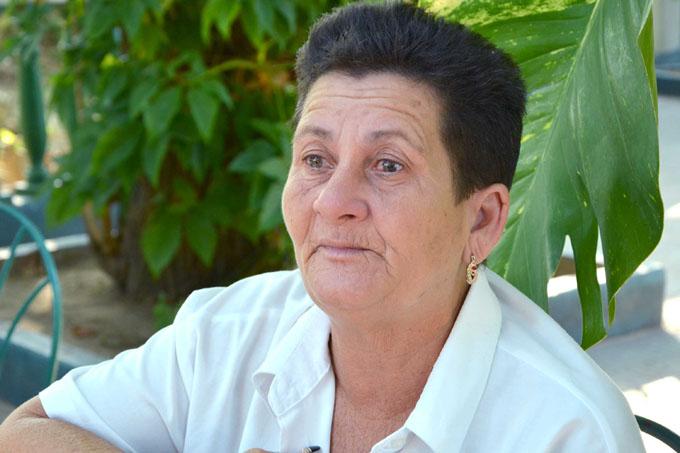Arelys Guerra, donante voluntaria de sangre, Cuba
