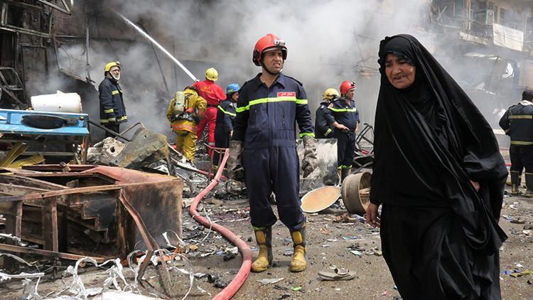 Una serie de atentados en Bagdad deja al menos 22 muertos y más de 70 heridos (+ fotos)