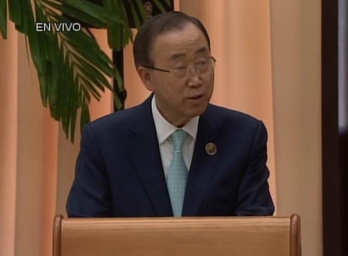 Califica la ONU de histórico acuerdo de cese el fuego en Colombia