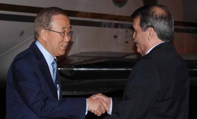En Cuba Ban Ki-moon para firma de acuerdo de cese el fuego