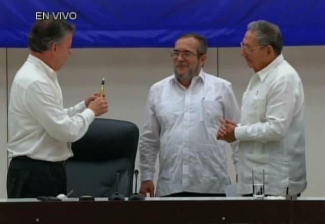 Bolígrafo Paz Colombia 3