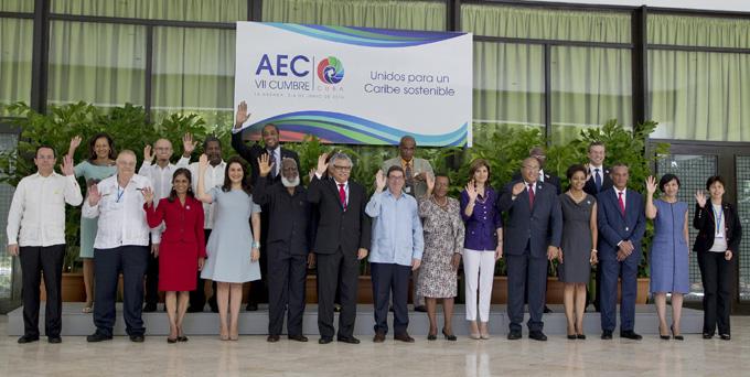 Concluye reunión de cancilleres de la AEC con amplio consenso