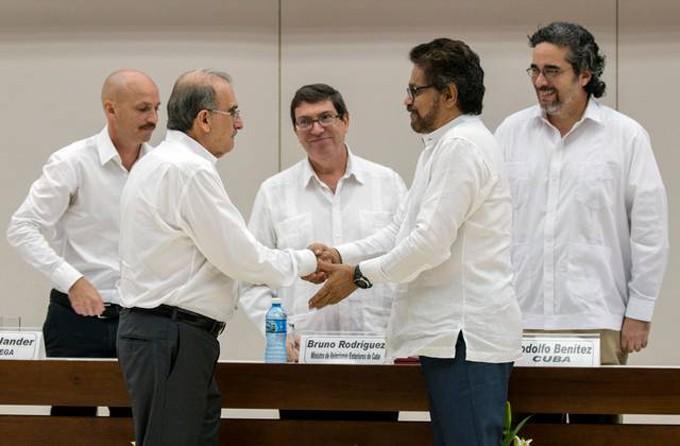 Diálogo paz Cuba-Colombia