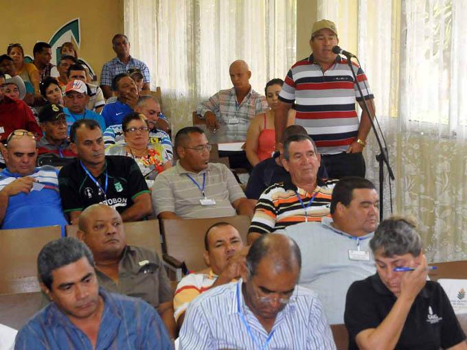 Encuentro productores de Arroz; Bayamo, Granma